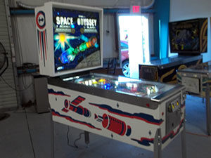 Pinball Restorations, Williams Space Odyssey