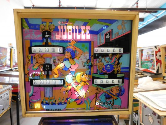 1973 Williams Darling pinball machine