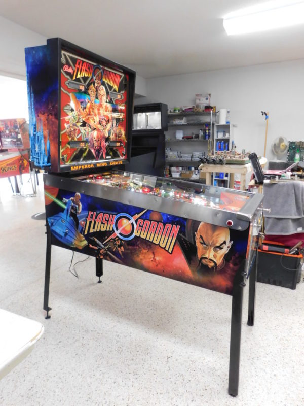 Pinball restorations, Bally Flash Gordon