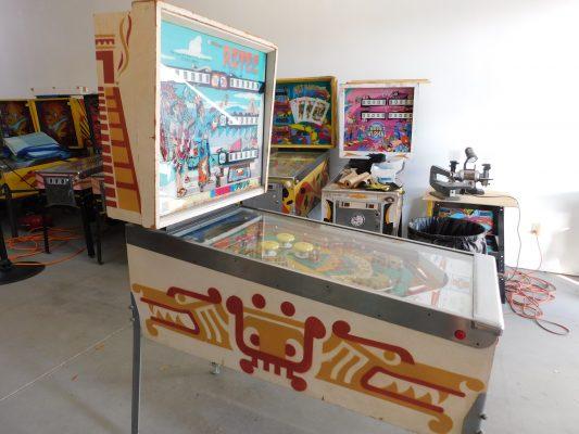 Sold 1976 Williams Aztec 1 Pinball Restorations
